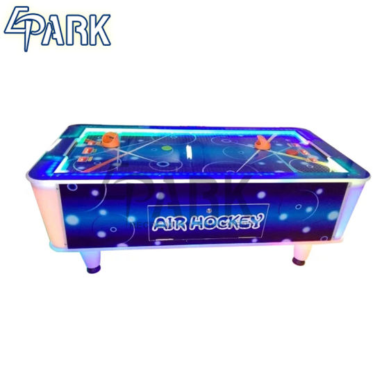 Arcade Air Hockey Game Table With Electronic Scorer
