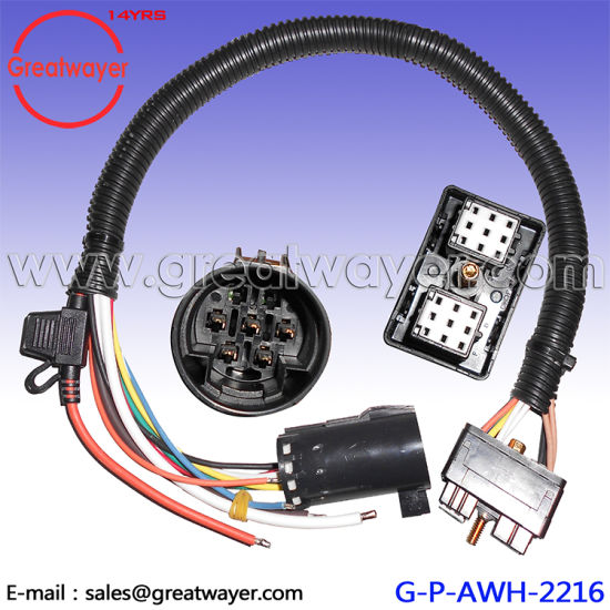 china 7 pin socket fuse box 30a loom abs wire harness china truck rh greatwayer en made in china com