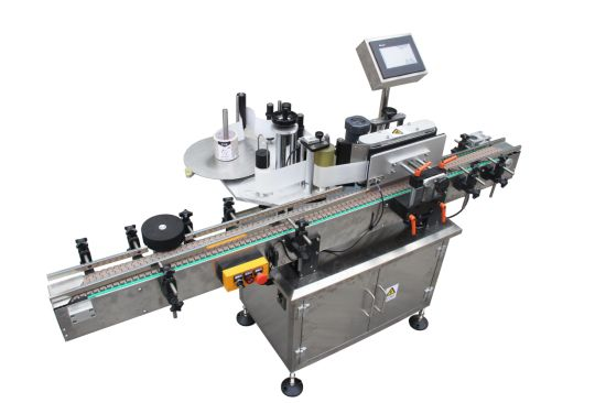 Automatic Round Container Labeling Machine Xt-2510 pictures & photos