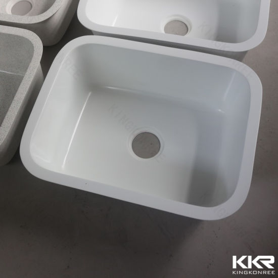 China Solid Surface Composite Acrylic Resin Kitchen Sink - China ...