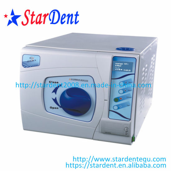 16L LCD Display Class B Dental Sterilizer Autoclave pictures & photos