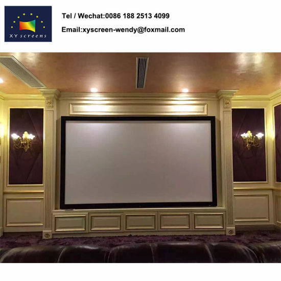 China Wholesale Price PVC Matt White Projection Screen, Frame Screen ...
