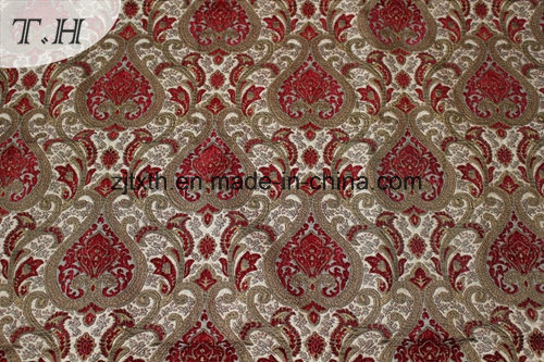 American Style Classical Jacquard Sofa Fabric (FTH31943) pictures & photos