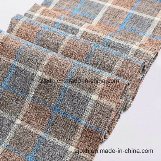New Yarn Dyed Check Plaid Linen Fabric