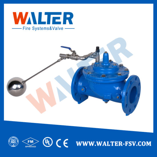 Modulating Type Float Control Valve for Water Tank