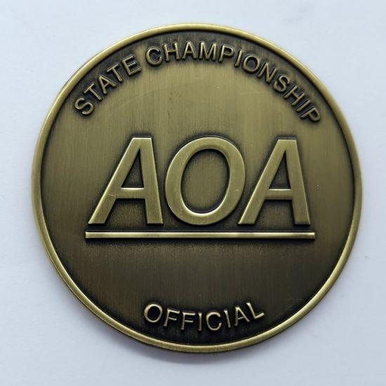 Wholesale Hot Selling Custom High Quality Souvenir Coin Custom 3D Metal Coin for Souvenir