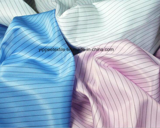 90G/M2 75dx75D Anti-Static Polyester Fabric pictures & photos