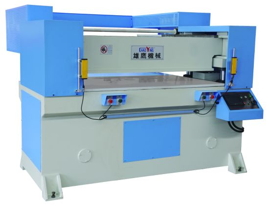 Hydraulic Receding Head Rubber Die Cutting Machine