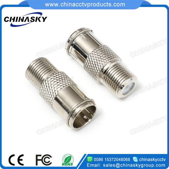 CCTV F Male to F Female Connector (CT5072) pictures & photos