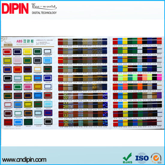 China ABS Sheet for Engraving Double Color Plastic Sheet - China ...