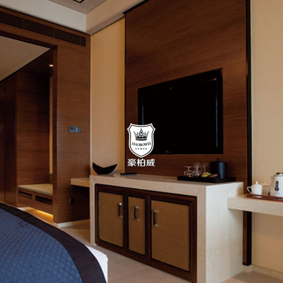 China High Quality Wall Unit Storage For Tv In Hotel Bedroom China