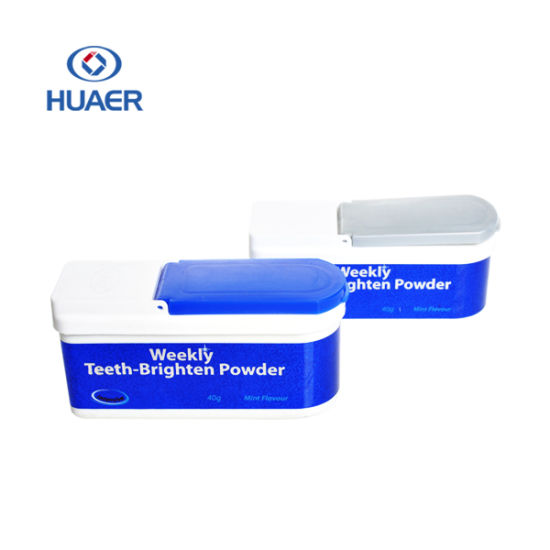 EU Regulation Approved Private Logo Mint Flavor Teeth Whitening Powder pictures & photos