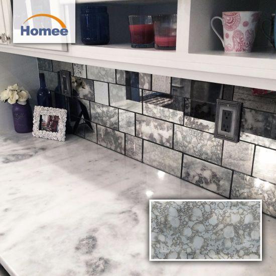 luxury hotel subway tiles mirror glass mosaic wall tiles mosaic