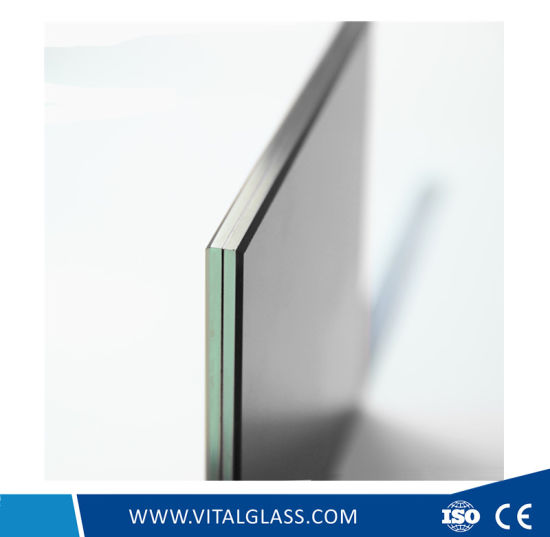 Blue/Green/Grey/Clear Sandwich Glass for Building Glass with Csi (L-M) pictures & photos