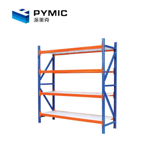 Factory Price Powder Coated Slotted Angle Boltless Rack pictures & photos