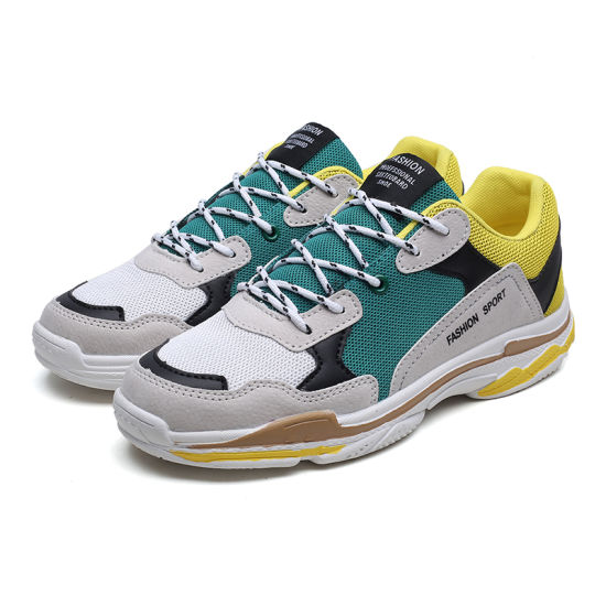 China New Model Brand Fashion Sneakers
