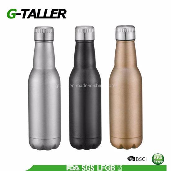Spray Stainless Steel Sports Drinking Water Bottle