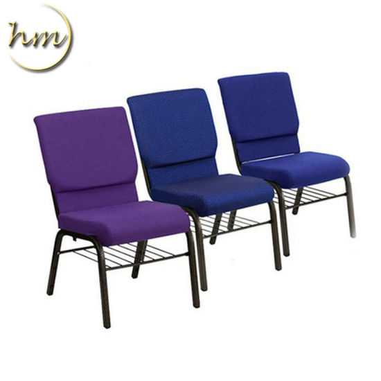 Stacking Metal Used Steel Theather Pulpit Auditorium Church Chair (HM-C1)
