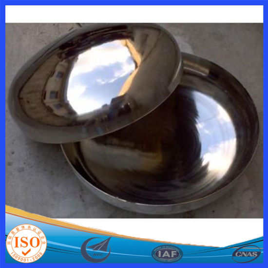 Pipe Fittings Manufacture for Carbon Steel End Cap Elliptical Head