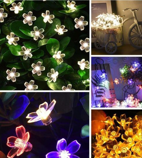 Holiday Lighting LED Decorative Flower Light Ceiling LED Light Outdoor Tree Light Price