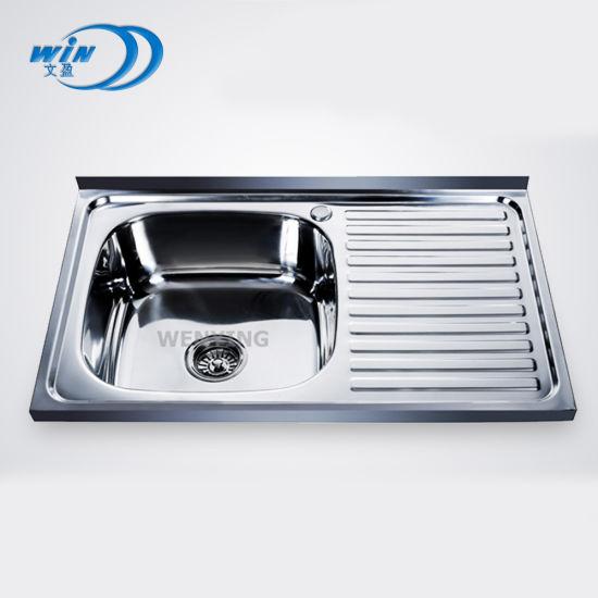Brush Stainless Steel Kitchen Sink