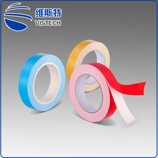 China 1mm Thick PE 3m Double Sided Foam Tape Micro Log Roll