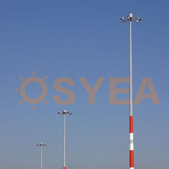 Osyea Concessional Rate Galvanized Steel Tube Hight Mast Power Transmission Pole