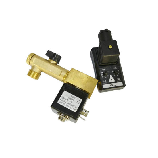 Screw Air Compressor Spare Parts Timer Drain Valve