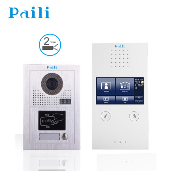 Touch 4.3inch Smart Video Intercom/ Video Doorphone for Home Security