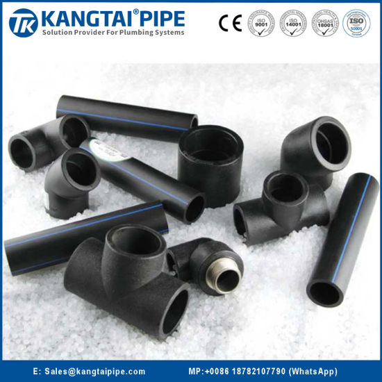 Full Stock PE100 Water Supply Pipe and Fitting Used in Agricultural Irrigation Field Widely