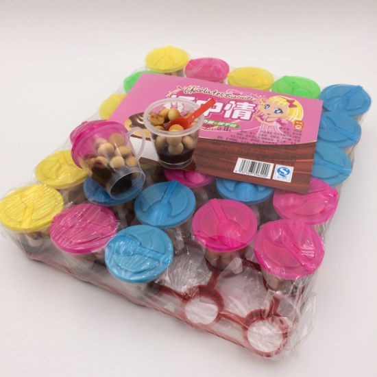 Halal Mini Tray Chocolate Biscuit Cup