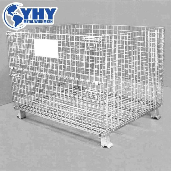 Folding Storage Cage Warehouse Container Box pictures & photos