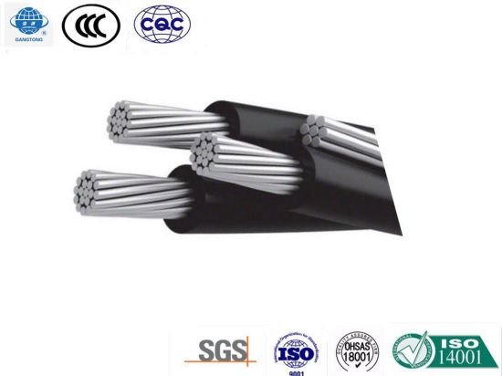 Project Used ABC Insulated Aluminum Cable