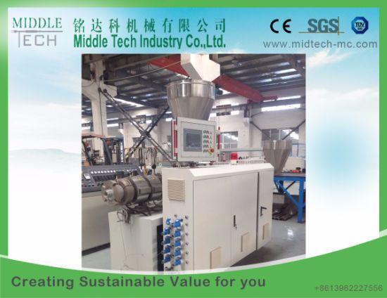 (China wholesale) Plastic PVC/UPVC (20-110mm) Tube/Pipe Extrusion Production Line : plastic pipe production line - www.happyfamilyinstitute.com