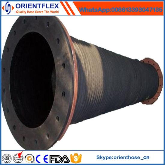 Large Diameter Rubber Slurry Hose  sc 1 st  HEBEI ORIENT RUBBER u0026 PLASTIC CO. LTD. & China Large Diameter Rubber Slurry Hose - China Rubber Hose Rubber ...