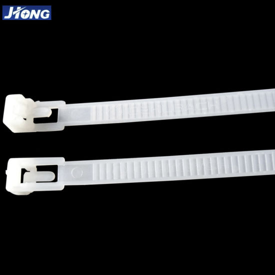Releasable Nylon Plastic Cable Tie