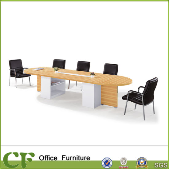 China Large Wooden Melamine Office Meeting Table For Conference - Large wooden conference table