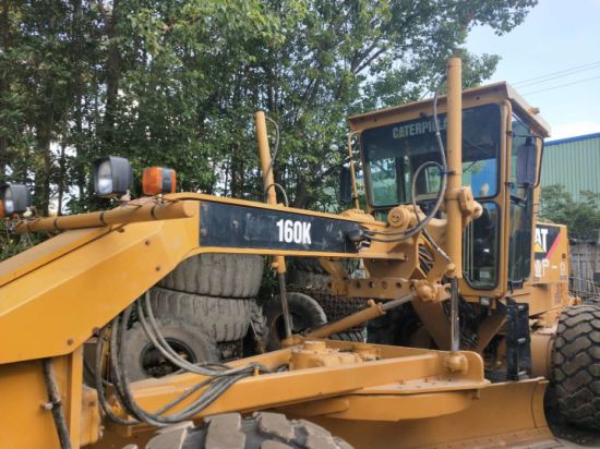 High Quality and Good Condition Cat 160K Motor Grader for Sale