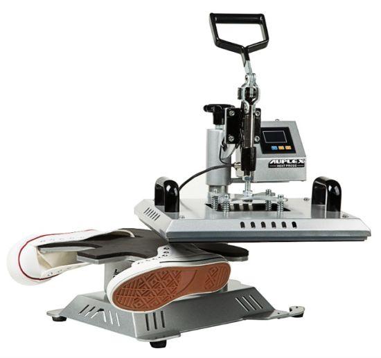 3 in 1 Heat Pen Press Machine, Sublimation Printer Shoe Transfer Machine Heat Press for Mug Cap Tshirt Shoe Bottle Pen Football