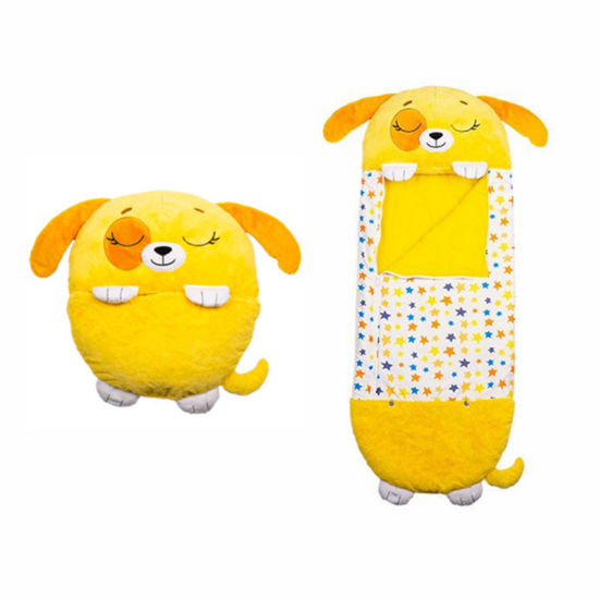 Wholesale Custom Plush Happy Nappers Sleeping Bag