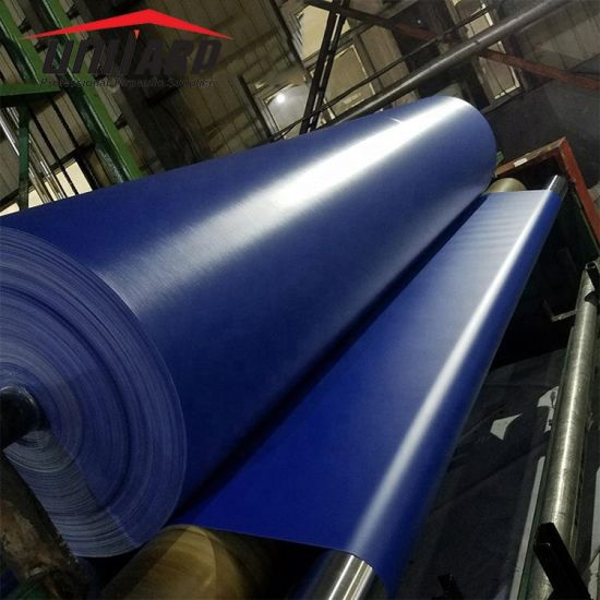 650GSM Color PVC Coated Polyester Vinyl Tarpaulin for Truck Tent