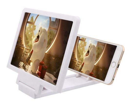 2020 8 Inch Foldable 3D Cell Mobile Phone Screen Magnifier Video Amplifier H