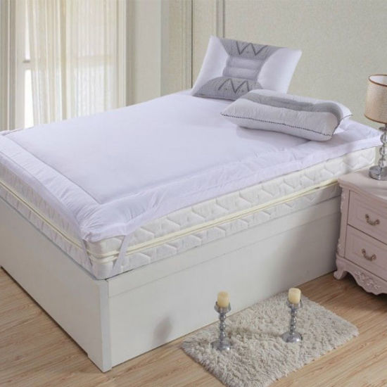 Washable and High Quality Adult Bed Mattress Pad for Hotel (DPF10151)