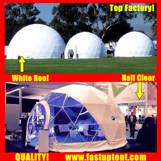 Hot Sale in 2018 Geo Dome Diameter 20m Geodesic Dome Tent for Conference