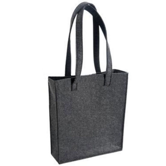 Easy-to-Decorate Felt Shopping Handbag Tote Bags pictures & photos