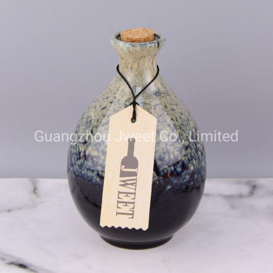 Wholesale Ceramic Tequila Bottle 500ml 750ml