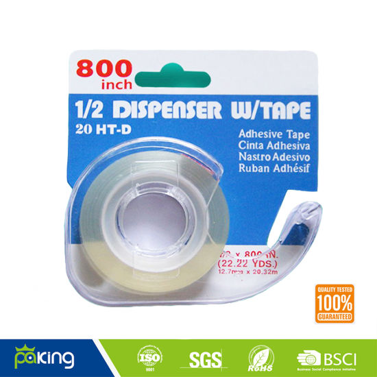 Super Clear Stationery BOPP Adhesive Tape for School Use pictures & photos