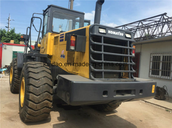 Used Japanese Wa420 Wheel Loader, Komatsu Loader Wa420 pictures & photos