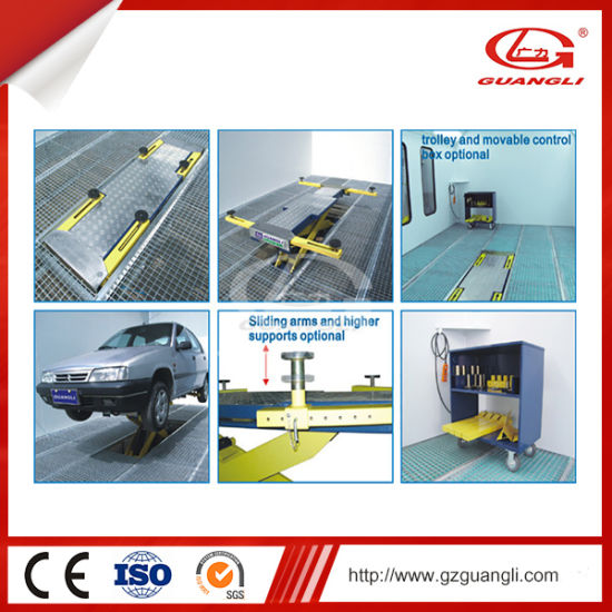 Professional Manufacturer High Quality One Hydraulic Cylinder Scissor Car Lift (GL1001) pictures & photos