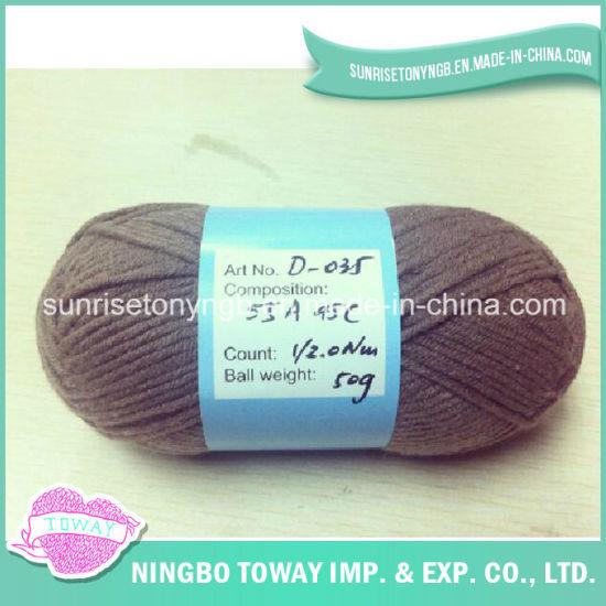 Cotton High Strength Mix Acrylic Craft Knitting Yarn